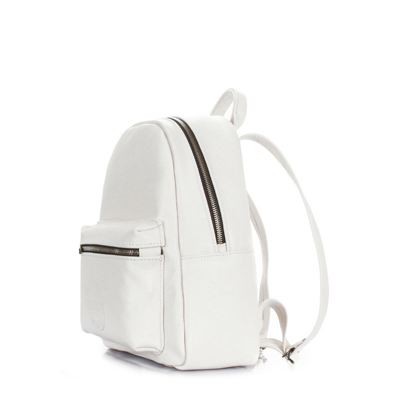 05e2346df84f ... Рюкзак женский кожаный POOLPARTY xs-bckpck-leather-white белый ...