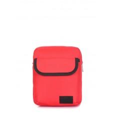 Мужская сумка на плечо POOLPARTY extreme-oxford-red красная