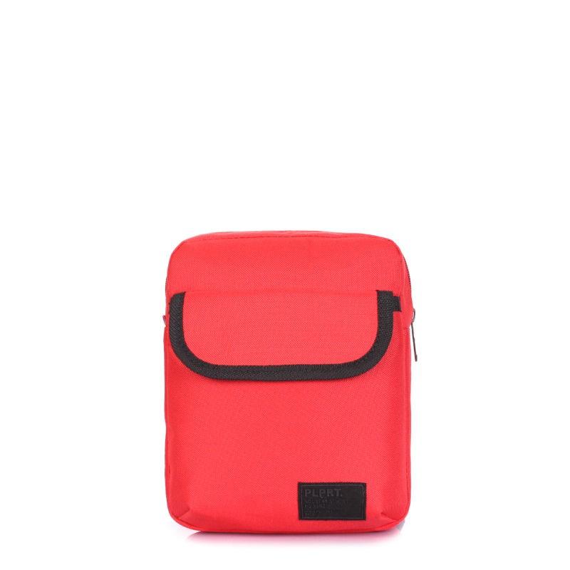 bf2e004acbef Мужская сумка на плечо POOLPARTY extreme-oxford-red красная купить ...