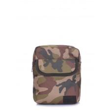 Мужская сумка на плечо POOLPARTY extreme-camo камуфляжная