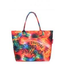 Повсякденна сумка POOLPARTY Paradise paradise-firebird червона