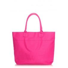 коттонова сумка POOLPARTY Paradise poolparty-paradise-pink-none малинова