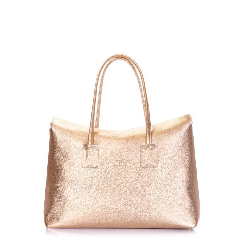 a48f98c7c6a3 Кожаная сумка POOLPARTY Sense sense-gold золотая купить от ...