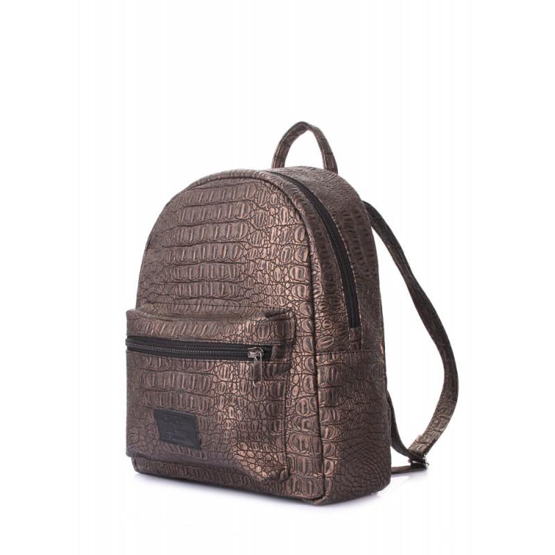 bf3a3025bef6 Рюкзак POOLPARTY XS бронзового цвета xs-croco-bronze купить от ...