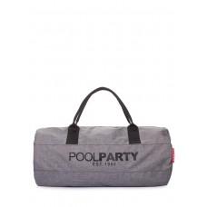 Спортивно-повседневная сумка gymbag-oxford-ripple серая