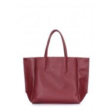 Шкіряна сумка POOLPARTY Soho Mini soho-mini-marsala бордова