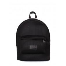 Рюкзак молодіжний POOLPARTY backpack-spongy-black чорний