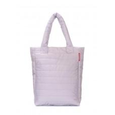 Дутая сумка POOLPARTY ns3-grey-new серая