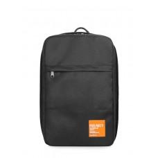 Рюкзак для ручной клади HUB - Ryanair/Wizz Air/МАУ POOLPARTY hub-black черный