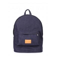 Рюкзак джинсовый POOLPARTY backpack-denim синий