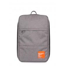 Рюкзак для ручної поклажі HUB - Ryanair/Wizz Air/МАУ POOLPARTY hub-grey сірий