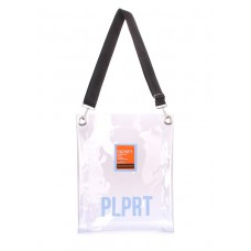 Прозора сумка POOLPARTY Clear з ременем на плече clear-pink