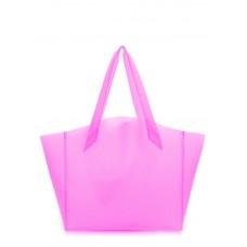 Пластикова сумка POOLPARTY Gossip fiore-gossip-pink рожева