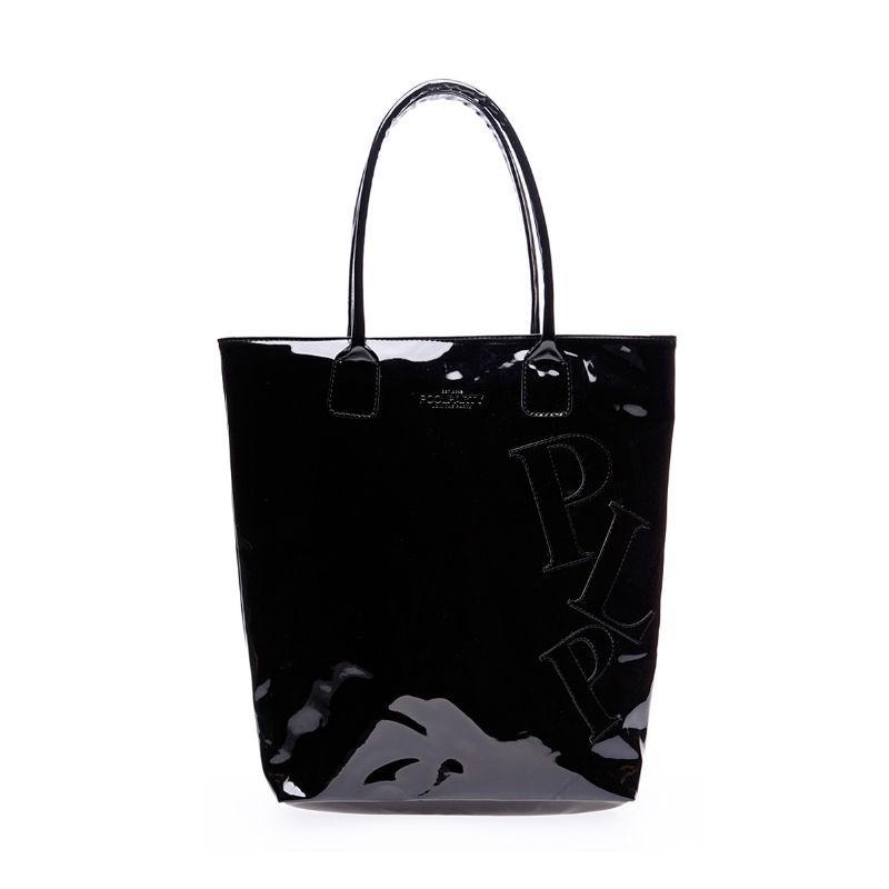 59c7f138e4e5 Лаковая сумка POOLPARTY pool86-laque-black — купить недорого в ...