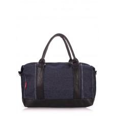Джинсова сумка POOLPARTY pool95-jeans синя