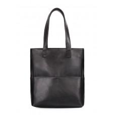 Сумка Beverly с наружными карманами POOLPARTY beverly-pu-black черная