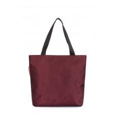 Женская повседневная сумка Select POOLPARTY select-marsala бордовая