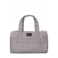 Городская сумка Sidewalk POOLPARTY sidewalk-oxford-grey серая