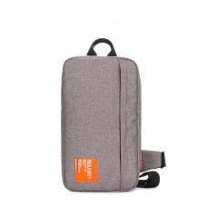 Рюкзак-слингпек Jet POOLPARTY jet-grey серый