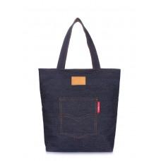 Джинсовая сумка Arizona POOLPARTY arizona-denim синяя
