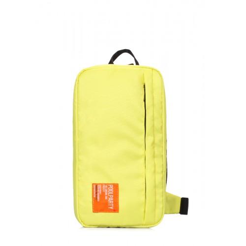 Рюкзак-слингпек Jet POOLPARTY jet-lemon желтый