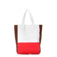 Женская повседневная сумка Triplex POOLPARTY triplex-oxford-wrbr