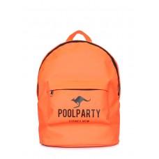 Повсякденний рюкзак POOLPARTY backpack-oxford-orange помаранчевий