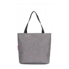 Женская повседневная сумка Select POOLPARTY select-grey серая