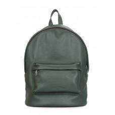 Шкіряний рюкзак POOLPARTY Backpack зелений