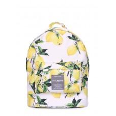 Рюкзак POOLPARTY з лимонами lemons білий