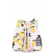 Літній рюкзак з лимонами Pack білий