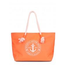Сумка с морским принтом Breeze оранжевая