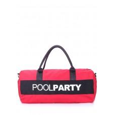 Спортивно-повсякденна сумка gymbag Червона