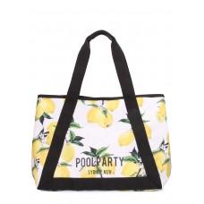 Літня сумка з лимонами Laguna Біла