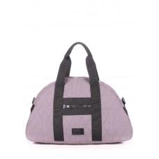 Стьобана сумка POOLPARTY alaska-diamond-grey сіра