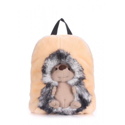 Детский рюкзак POOLPARTY kiddy-backpack-hedge-grey серый