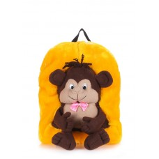 Детский рюкзак POOLPARTY kiddy-backpack-monkey-sunny