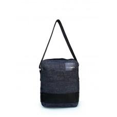 Мужская джинсовая сумка POOLPARTY pool94-black-blue-jeans синяя
