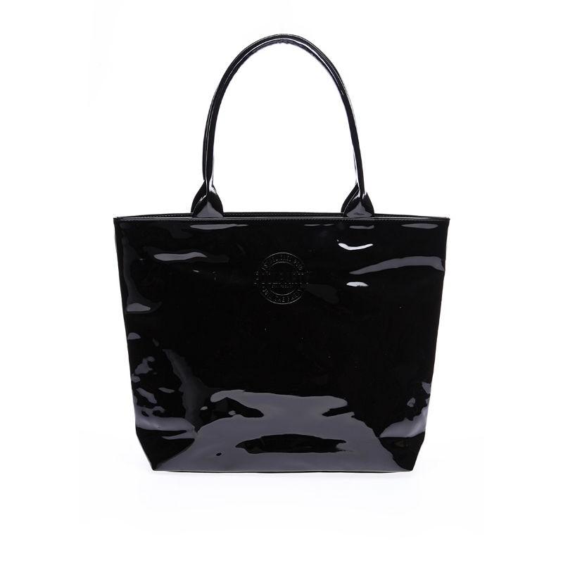 e43417596923 Лаковая сумка POOLPARTY pool7-laque-black — купить недорого в ...