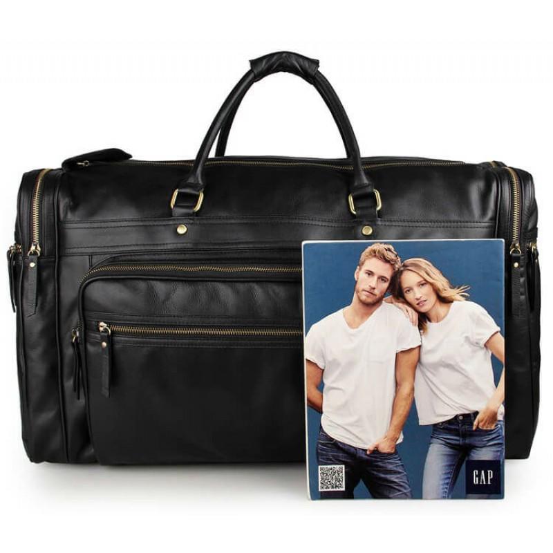 Дорожная сумка Jasper Maine 7317-1A черная купить в Киеве недорого ... b6754bb1654