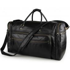 Дорожня сумка Jasper&Maine 7317-1A чорна