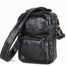Мужская сумка через плечо BEXHILL BX1010A черная