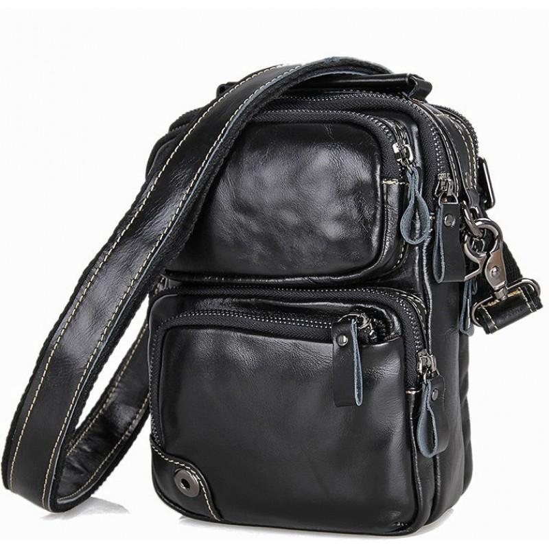 Чоловіча сумка через плече BEXHILL BX1010A чорна купити в Києві ... 7723708215eec