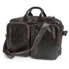 0f8608d3a291 Сумка-рюкзак J&M 7014Q-2 коричневая