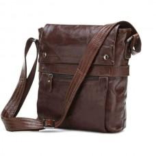 91d67ef5ce49 Мужская сумка через плечо Jasper&Maine 7121C темно-коричневая