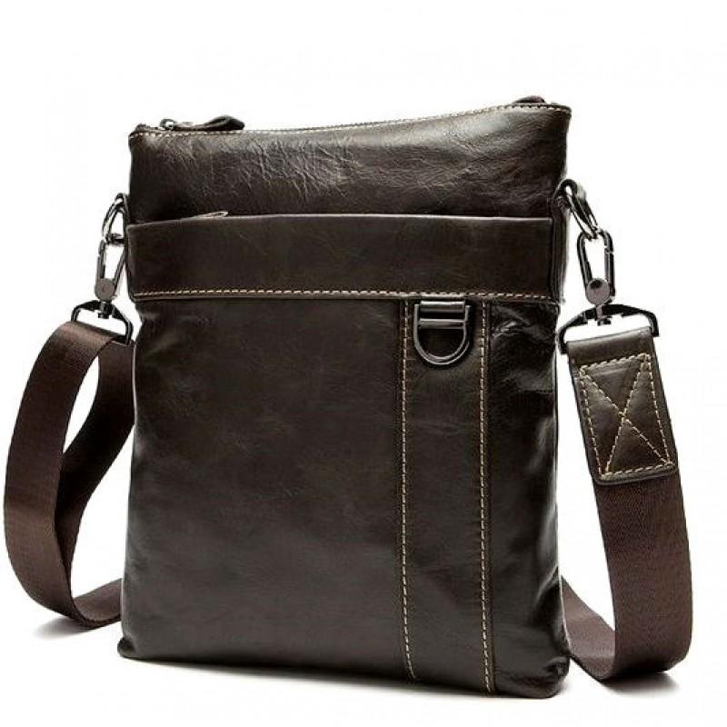 ba928c14e80b Мужская сумка через плечо BEXHILL BX9010C коричневая купить в Киеве ...