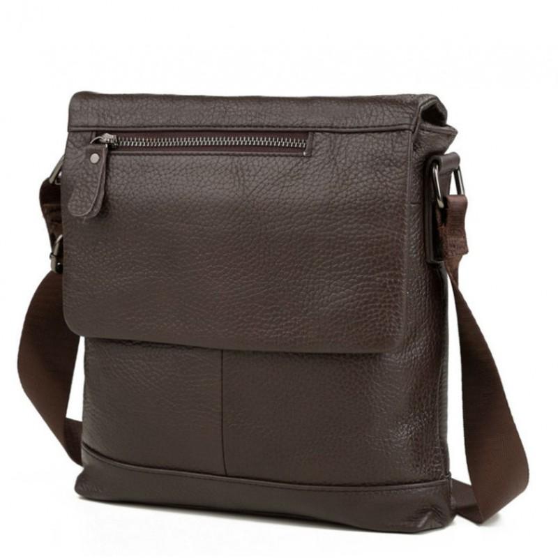 aeb1bf0fb680 Мессенджер Tiding Bag M38-8146C коричневый купить в Киеве недорого ...