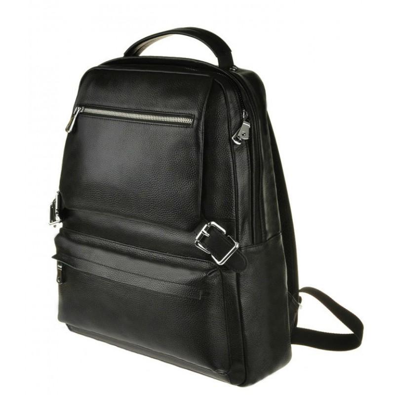 53b597e64ecd Рюкзак кожаный TIDING BAG M423A черный купить в Киеве недорого ...