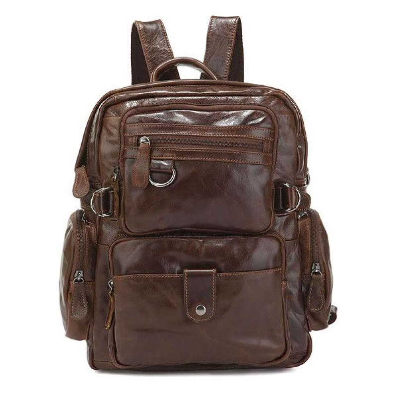 0c98abe1bf18 Сумка - рюкзак TIDING BAG 7042Q коричневая купить в Киеве недорого ...