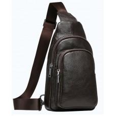 Мессенджер Tiding Bag A25-6602C коричневый